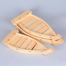 1pc Wooden Sushi Boats Sashimi Platter Tray Serving Kitchen Toos Tableware Decor