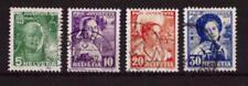 Schweiz 306 - 309 Pro Juvente 1936 gestempelt  #e523