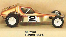 Bolink Funco SS2A Body W/Mask Tamiya Hornet Frog Grasshopper Fox & RC10