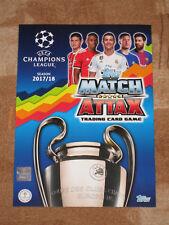 Match Attax CHAMPIONS LEAGUE 17 / 18 ( 10 Karten aussuchen ) !!! TOP !!!
