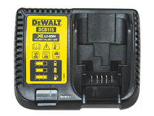 DeWalt DCB115 LITIO XR Fast 30 MIN BATTERY CHARGER 10.8v 14.4v 18v DCB115