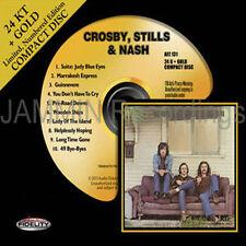 CROSBY, STILLS & NASH - 24 KT GOLD CD - AUDIO FIDELITY - AFZ131