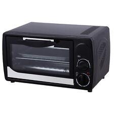 Grafner Backofen Miniofen Ofen Pizzaofen Studenten Küche Timer 12 L 1000 Watt
