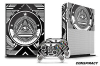 Designer Skin for XBOX ONE S 1S Gaming Console+2 Controller Sticker Decal CNSPCY