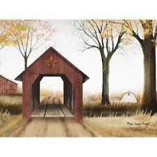 Billy Jacobs Buck's County Bridge  Art Print 16 x 12