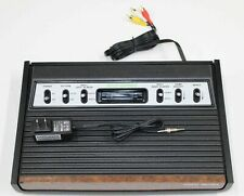 Atari 2600 Console Heavy-Sixer Recapped Reconditioned UAV A/V mod Fully Tested