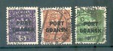 Danzig PORT GDANSK 20/22 SATZ gest. (71399