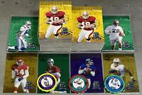 1997 Playoff First And Ten Football Lot Of 216 W/ Chip Shot Coins Kickoff Rookie