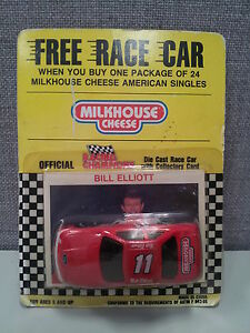 Bill Elliott 1/64 Racing Champions NASCAR Bud Ford Thunderbird Promo Cheese