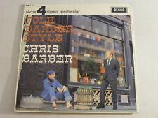 CHRIS BARBER Folk Barber Style Near Mint 1965 Decca Jazz LP