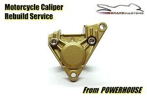 Aprilia RS 125 rear brake caliper mechanical rebuild service 1999-2005