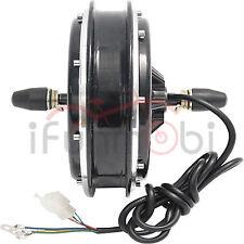 36V/48V 1000W Brushless Gearless DC Front Wheel Hub Motor For Electric Bike