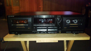 Sony TC-WR665S Cassette Deck With Dolby S Noise Reduction. {{{REFURBISHED}}}