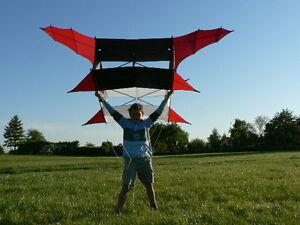 CODY Drachen - Einleinerdrachen - Kastendrachen - Kite