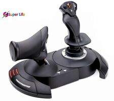 Thrustmaster Flight Game Simulator Stick Joystick USB Throttle Controller PC PS3
