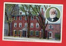 MAINE - PORTLAND, THE WADSWORTH - LOMGFELLOW HOUSE POSTCARD 340