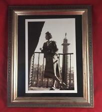 Coco in Paris at Ritz w Place Vendome Book Print w New Ornate Frame 12 x 10