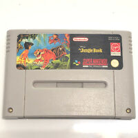 SNES DINSEY'S THE JUNGLE BOOK SUPER NINTENDO GAME PAL