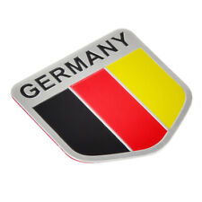 Germany German Flag Shield Domed Decal Emblem Badge Decor Sticker For Car Truck