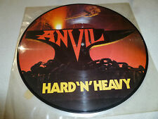 ANVIL HARD N HEAVY PICTURE DISC RECORD LP LAT 1100 1983 SPI PARIS LIPS REINER >>