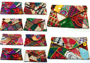 10 Pcs Wholesale Envelope Evening Party Clutch Tote Purse Bag Handbag Vintage