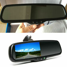"4.3"" Auto Dimming HD Rear View Mirror Monitors w/ LED Camera 170° Night Vision"