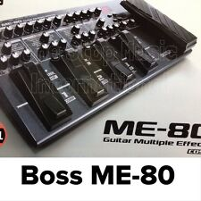BOSS ME-80 GUITAR PEDAL EFFECTS ME80 &  FREE FENDER CABLE