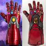 Avengers 4 Endgame Iron Man Infinity Gauntlet Cosplay Arm Thanos Latex Gloves