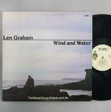 """Len Graham-el viento y el agua-casi como nuevo/ex 12"""" Vinilo Lp - 12TS334"""