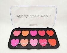 Beauty Treats Pink & Peach Blush Palette *10 Shades Heart Love Palette *US SELL