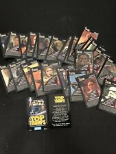 Star Wars Top Trumps 2003 Playing Cards Game