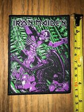 Iron Maiden patch Alien Somewhere In Time limited edition