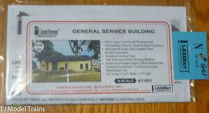 American Model Builders #601 General Service Building, Kit (Laser Cut)