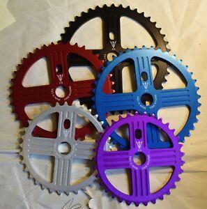 Neptune Helm Chainwheel Sprocket for BMX Single Speed Fixie Bike Color Choice