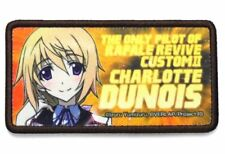 IS (Infinite Stratos) Charlotte Dunois Cospa Removable Badge Patch Wappen Anime