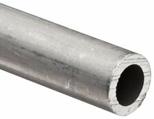 """Aluminum 6061 T-6 3/8"""" .375 OD .245 ID .065 Wall Round Tubing Pipe 24"""" Length"""