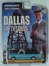 Hollywood series # 6 TV show Dallas 1970 Chevrolet C-10 blue & white pickup