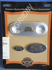 Harley sportster xl 883 1200 50th anniversary fender medallion air cleaner trim