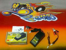 AUTOMATIC DIAGNOSTIC 12v  MOTORCYCLE GEL OR LED ACID BATTERY CHARGER TENDER .