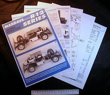 Mardave R12 series - instructions/drawing/spare parts price list