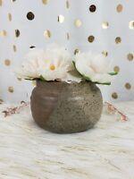 """Details about  /Vintage Ceramic Black Lamb Planter USA 724 Gold Bow Hooves Glazed 5/"""""""