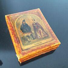 Boîte Cartonnée Napoléon III Normands XIXè Victorian Box 19thC Normandie