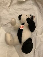 Steiff Bear Limited Edition 2006 Pierrot Bear #676 in Black And White Beautiful!