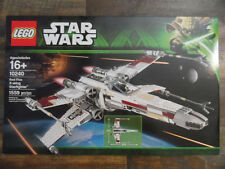 NEW and FACTORY SEALED STAR WARS LEGO SET 10240 RED FIVE X-WING STARFIGHTER
