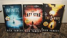 Rick Yancey x3 Books They are coming - The 5 Wave The Last Star The Infinite Sea