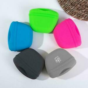 Pet Training Treat Bag Pouch Silicone With Clip Waist Pack Feed Dog I5F0