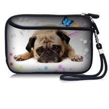 Pug Wallet Purse Cell Phone Bag Compact Camera Case Pouch For iPhone 7/ 6S / 5S