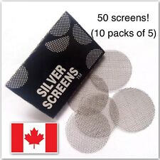 Smoking Pipe Screens 20mm Metal Stainless Steel Pipe Filter 50pcs 🇨🇦 Seller!