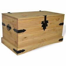 vidaXL Kiefer Aufbewahrungskiste Holztruhe Aufbewahrungsbox Truhe Kiste Box