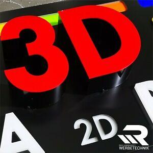 3D LED Einzelbuchstabe Leuchtbuchstaben